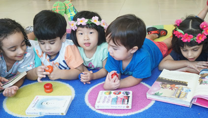 Mosaic Nursery Abu Dhabi - Language Development