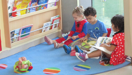 Mosaic Nursery Abu Dhabi - Reading and Lifelong Learning